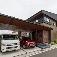 中巨摩郡昭和町の家